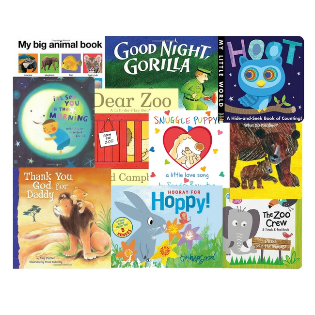 10 Favorite Board Books for Babies and Toddlers