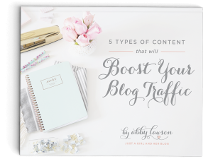 5 Types of Content that will Boost Your Blog Traffic